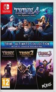 Trine: Ultimate Collection, Trine 2, 3, Limbo 1€, Inside 3€ (Nintendo Switch, eShop)