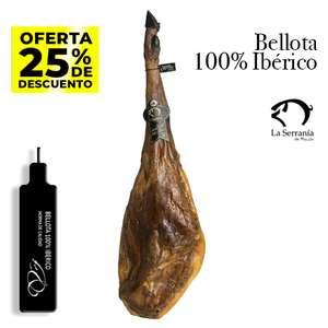 Jamón de Bellota 100% Ibérico 7-8kg Huelva