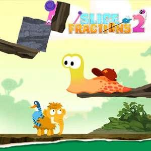 Slice Fractions 2, Rompecabezas para niños [IOS, Sin Anuncios, Ni Compras]
