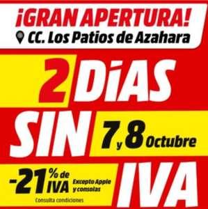 Dia Sin Iva Mediamarkt Cordoba 7 Y 8 De Octubre