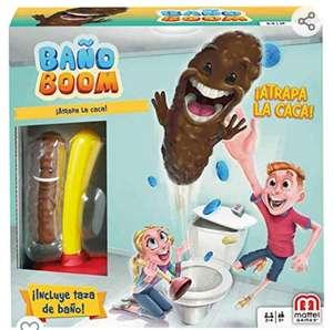Mattel Games - Baño Boom, Atrapa la Caca
