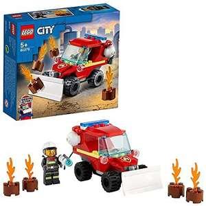 LEGO 60279 City Furgoneta de Asistencia de Bomberos, Set con Camión Juguete y Mini Figuras
