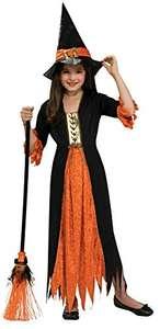 Disfraz de Bruja gótica para niña