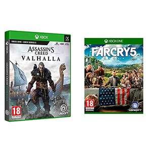 Assassin's Creed Valhalla + Far Cry (los 2 en un pack) para Xbox one