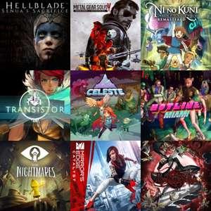 Playstation :: Celeste, Ni no Kuni, Hellblade: Senua's Sacrifice, Hotline Miami Collection, Little Nightmares y otros | Joyas Ocultas