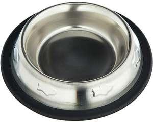 Comedero bebedero acero inoxidable antideslizante para perro o gato 240 ml / 15,5 cm Arquivet