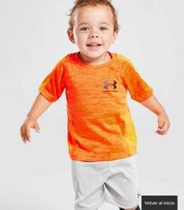 Under Armour conjunto camiseta/pantalón corto Twist para bebé