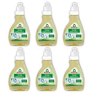 6 Botes de Vinagre para limpieza Frosch de 300ml