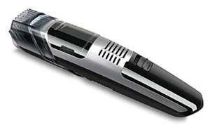 Taurus Spiro - Barbero con aspirador, recorta tu barba sin ensuciar, 11 alturas de corte, cuchillas de acero