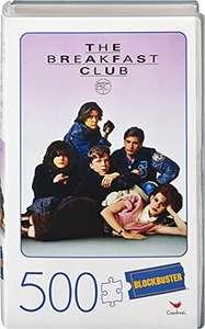 Cardinal Games Puzzle de 500 Piezas en plástico Retro Blockbuster VHS Video Case, The Breakfast Club