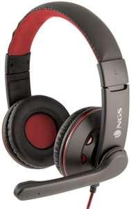 NGS VOX420DJ Auricular Estéreo con Micrófono y Conexión Jack 3.5mm para PC/PS4/XBox