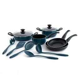 Batería de cocina + utensilios (total 10 Piezas) ASTRAL HYDRA