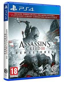 Assassin's Creed III Remastered para PS4