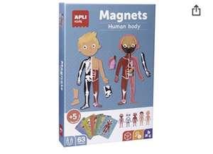 APLI Kids-Sobre el Cuerpo Humano Juego Magnético