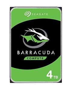 """Seagate BarraCuda, 4 TB, Disco duro interno, HDD, 3,5"""", SATA 6 GB/s, 5400 RPM"""