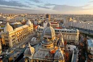 Vuelos ida y vuelta a Bucarest desde 28€ para Noviembre
