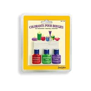 Colorante para Velas. 3 Colores