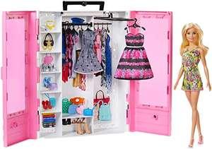 Barbie Armario portable con muñeca incluida