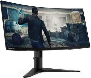 """Monitor Curvo Lenovo 34"""" UltraWide QuadHD 144Hz FreeSync 1ms"""