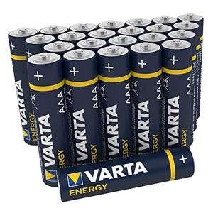 Paquete de 24 pilas alcalinas VARTA Energy AAA Micro LR03 por sólo 7,59€
