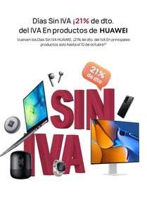 Semana sin IVA Huawei Store