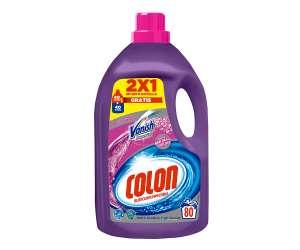 Detergente lavadora Vanish Colon 80 lavados a mitad de precio