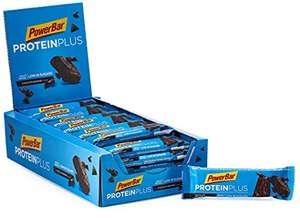 Caja de 30 unidades Powerbar Protein Plus Low Sugar Chocolate Brownie