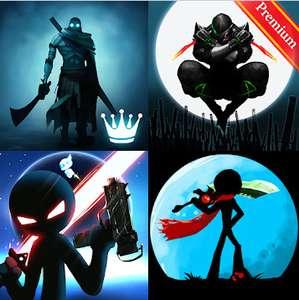 ANDROID: 5 juegos (GRATIS) - Stickman, Demon Warrior, Legend Guardians...