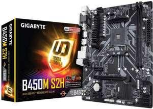 Gigabyte Technology - Placa base B450M S2H AM4 B450 MATX