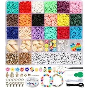 Cuentas para pulseras niños, 4132 piezas