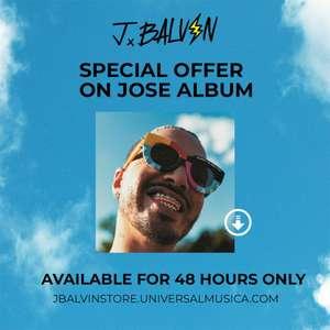Álbum digital JOSE de J. Balvin
