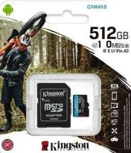 Kingston MicroSDCS2 - 512GB (Switch)