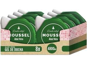 Moussel Gel de Ducha Purificante con Aloe Vera 600ml - Pack de 8