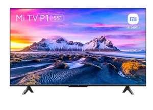 "TV LED 55"" - Xiaomi Mi TV P1, UHD 4K, Smart TV, WiFi, Control por voz, AndroidTV, Dolby Audio™ y DTS-HD, Negro"