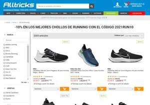 -10% en productos Running ya rebajados con el código 2021RUN10