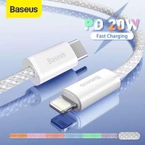 BASEUS Cable Carga Rápida Tipo C para iPhone (Varias medidas)