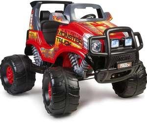 Feber Monster Truck Challenger - Coche eléctrico de 2 plazas para niños y niñas, a partir de 3 años, 12V