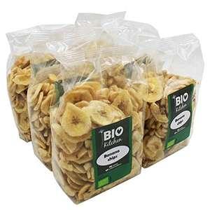 Chips de plátano ecológico (6 envases de 250 g)
