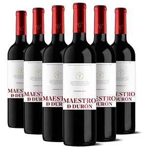 6X Botellas Maestro de Durón Vino Tinto Crianza 2017