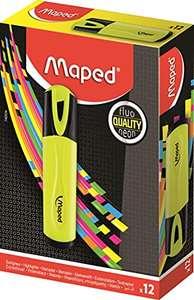 Maped – Caja de 12 rotuladores fluorescentes