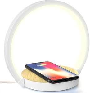 Lámpara LED + Cargador inalámbrico SOLO 16.9€