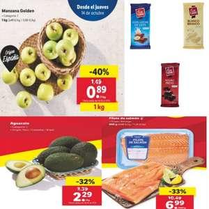Ofertas Alimentación - A partir del 14 de Octubre en Lidl