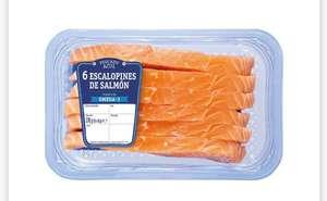 ESCALOPINES DE SALMÓN 270GR solo 3'89€ y Filete de Salmón 600GR solo 6'99€