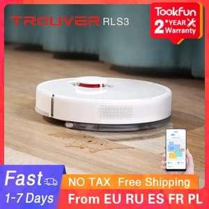 Robot aspirador RLS3: barre y friega - Desde Europa