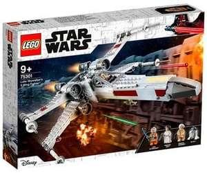 Juego de construcción Caza ALA-X de Luke Skywalker con 474 piezas, LEGO Star Wars 75301.