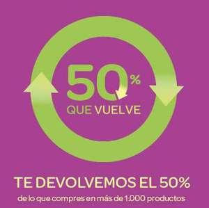 50% que vuelve (a partir del 14/10)