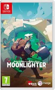 Moonlighter 4€ o Completa 5€ , Children of Morta 7€, Toki 0.81€, Aggelos 1€ (Nintendo Switch, Eshop)