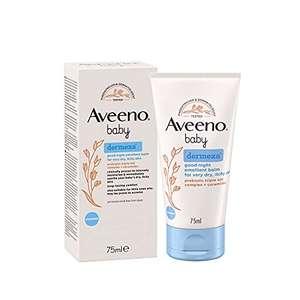 Aveeno Baby Dermexa Good Night - Bálsamo emoliente, 75 ml