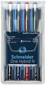 4 Boligrafos Schneider Roller One híbrido N 05