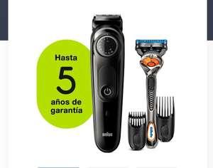 Barbero - Braun, BT5242 Recortadora De Barba Y Cortapelos Para Hombre, 39 Ajustes De Longitud (5 años garantía)